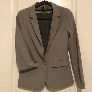 H&M Women's Blazer Gray - 2